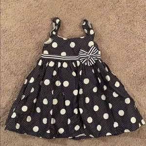 Lilly Wicket Holiday/ Formal pocka-dot dress